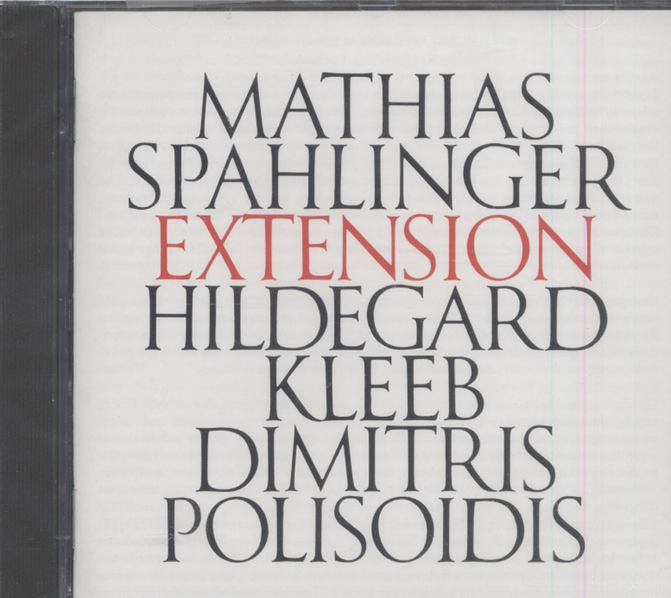 Mathias Spahlinger CD