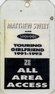 Matthew Sweet Laminate