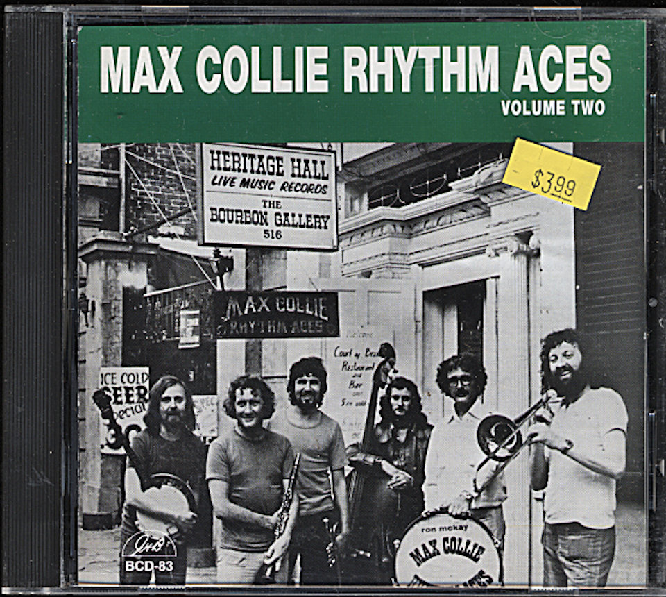 Max Coolie Rhythm Aces CD