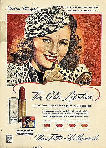Max Factor - Hollywood Vintage Ad