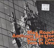 Max Roach / Anthony Braxton CD