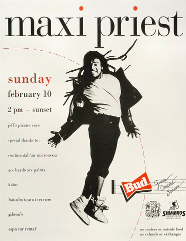 Maxi Priest Poster