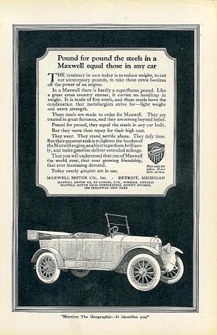 Maxwell Vintage Ad