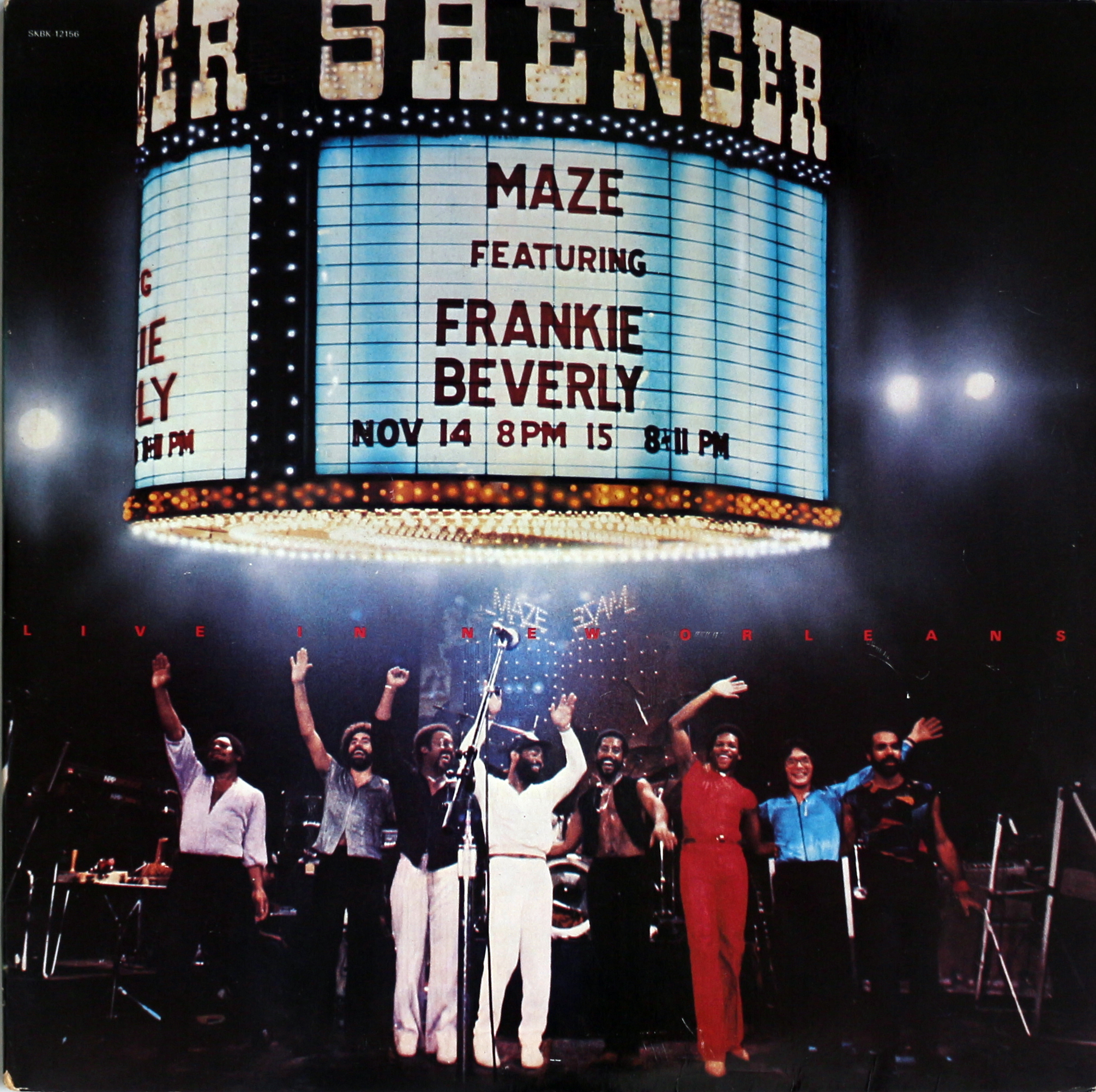 """Maze Featuring Frankie Beverly Vinyl 12"""" (Used)"""