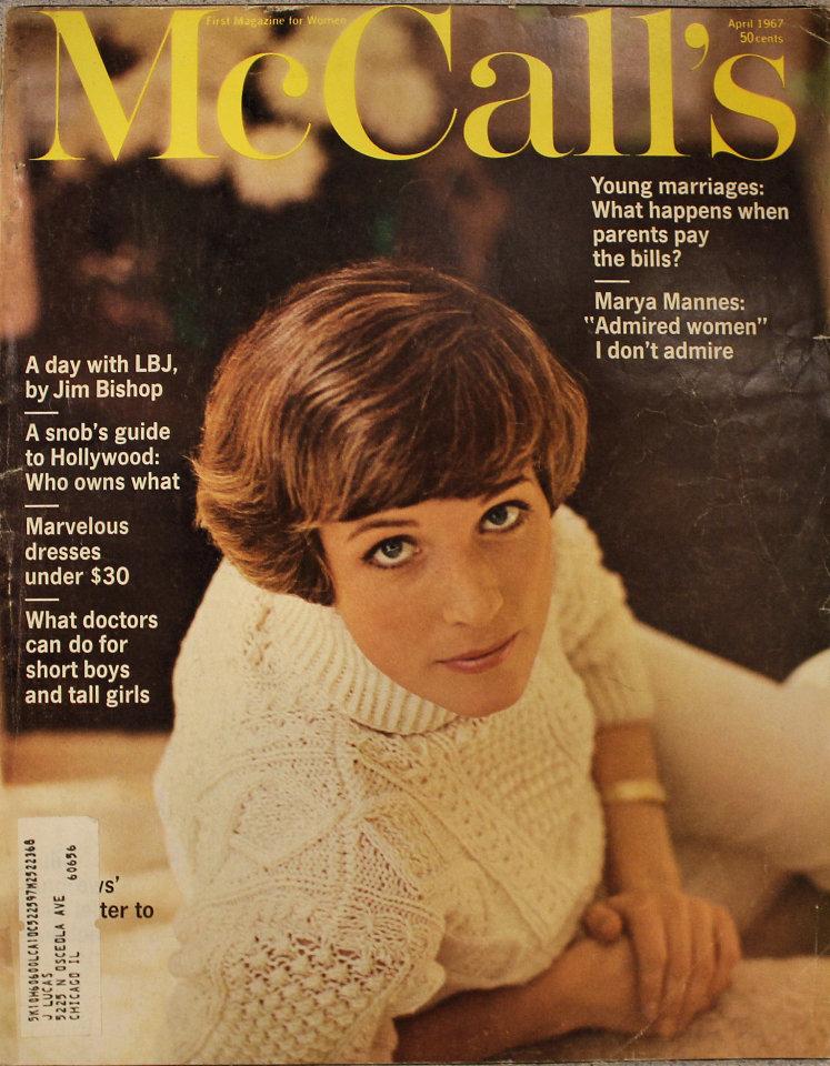 McCall's Magazine April 1967