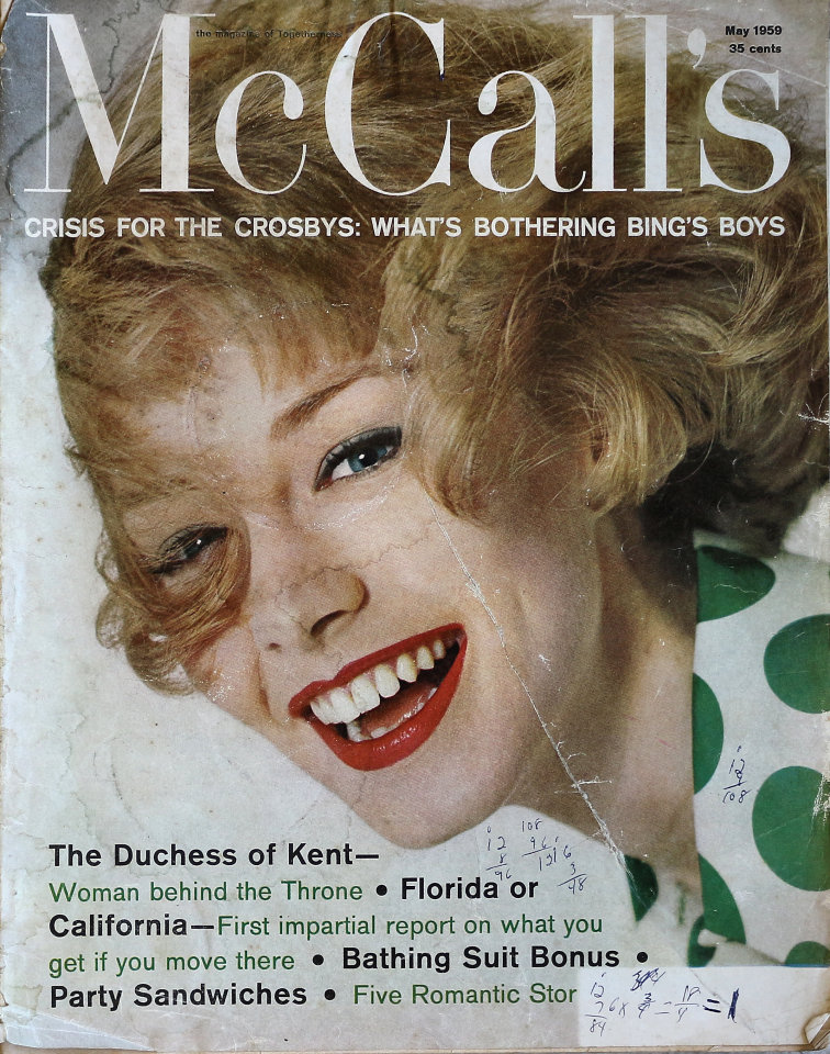McCall's Vol. LXXXVI No. 8