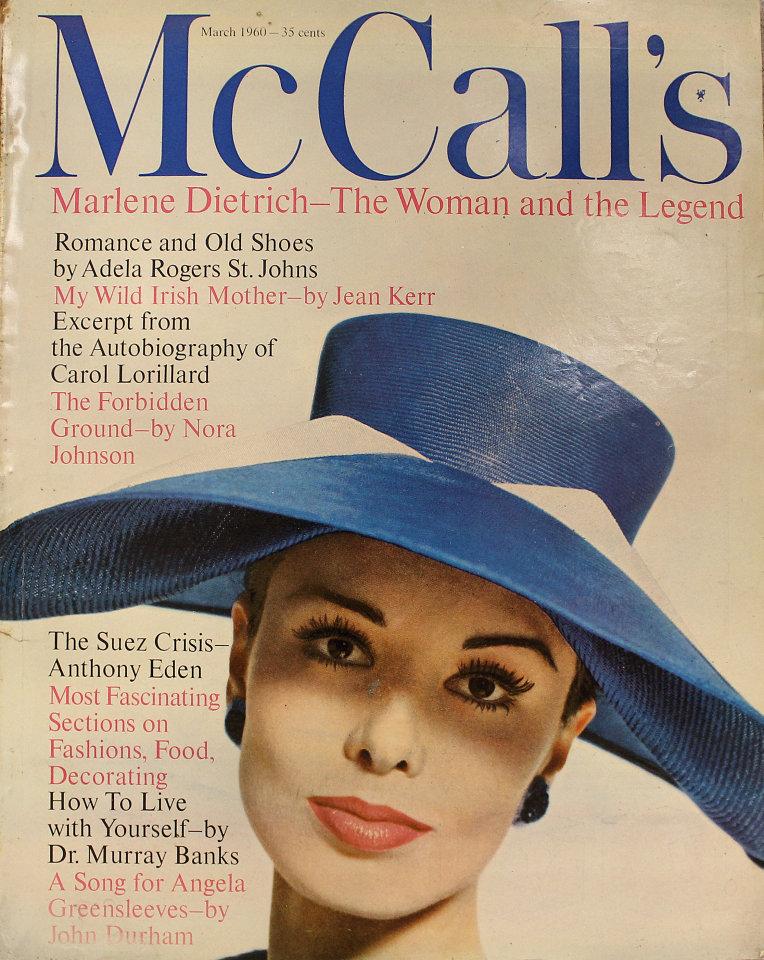 McCall's Vol. LXXXVII No. 6