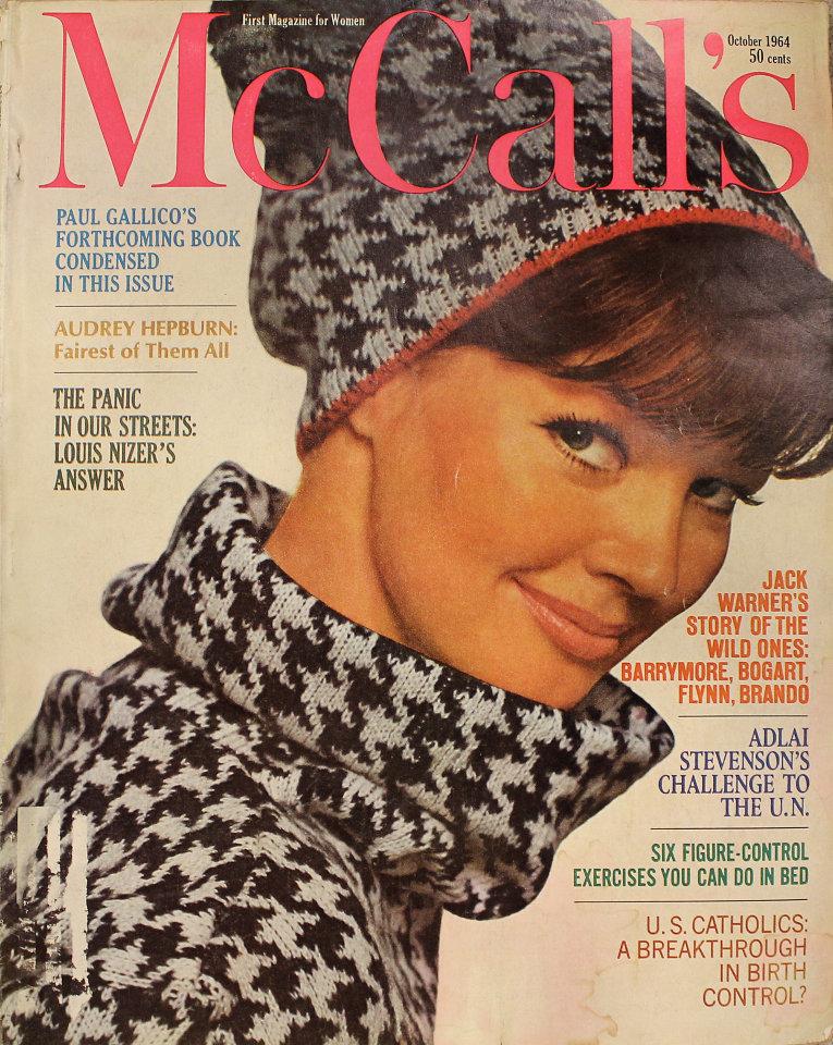 McCall's Vol. XCII No. 1