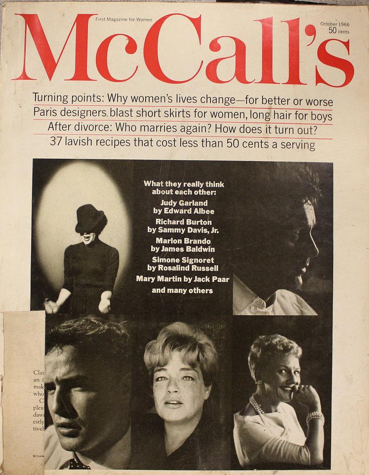 McCall's Vol. XCIV No. 1