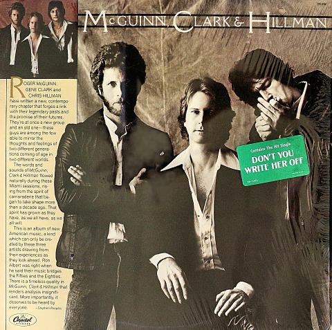 "McGuinn, Clark & Hillman Vinyl 12"" (Used)"