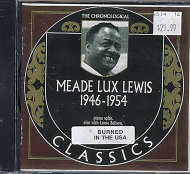 "Meade ""Lux"" Lewis CD"