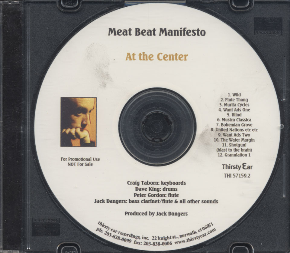 Meat Beat Manifesto CD