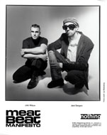Meat Beat Manifesto Promo Print