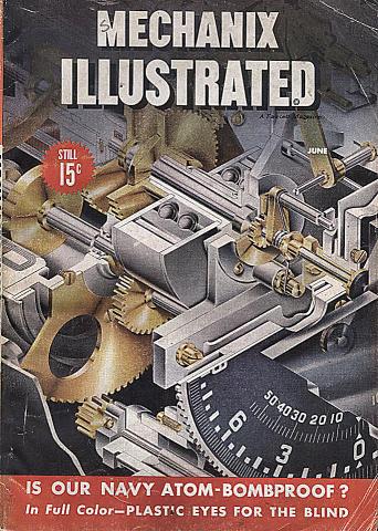 Mechanix Illustrated Vol. XXXVI No. 2 Magazine