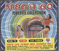 Mega 60 Jukebox Collection CD