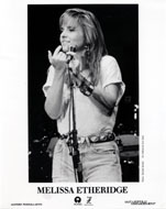 Melissa Etheridge Promo Print