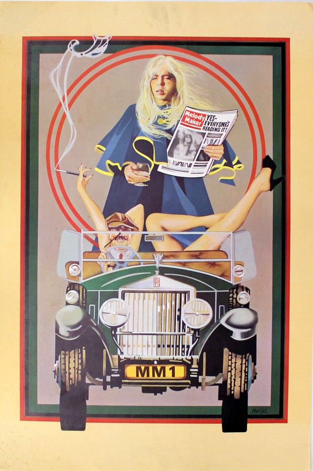 Melody Maker Poster