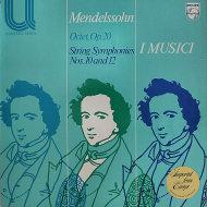 """Mendelssohn Vinyl 12"""" (Used)"""