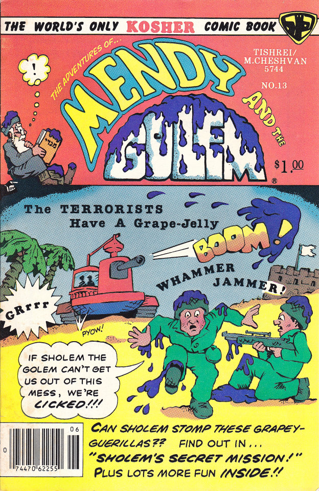 Mendy and the Golem #13 Comic Book