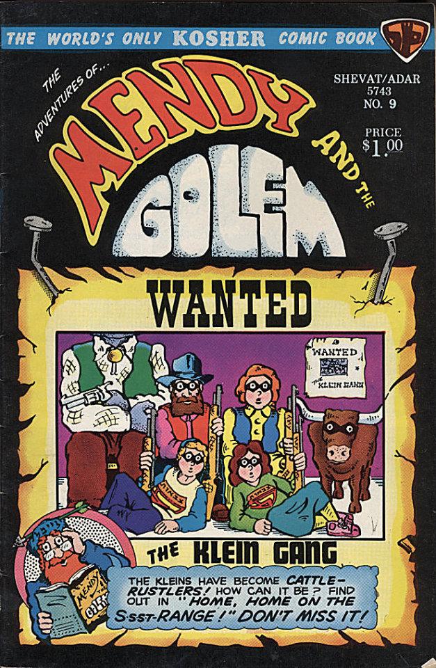 Mendy and the Golem Vol. 2 No. 3 Comic Book