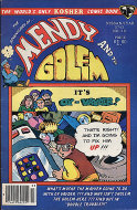 Mendy and the Golem Vol. 2 No. 4 Comic Book