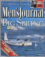 Men's Journal Magazine March 2001 Magazine