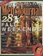 Men's Journal Magazine November 1999 Magazine
