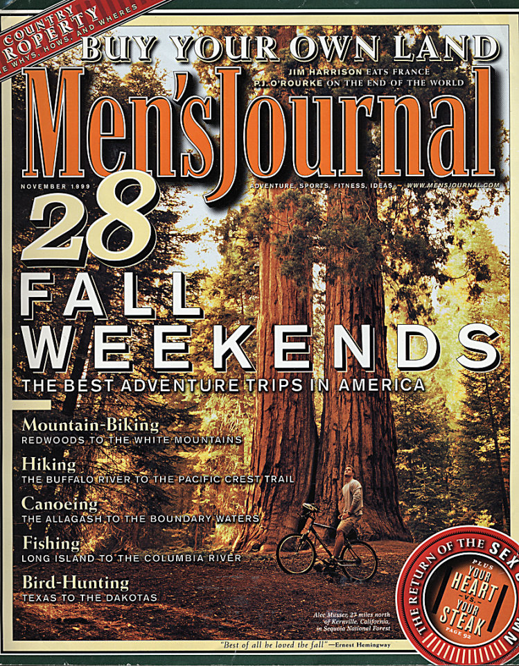 Men's Journal Vol. 8 No. 9