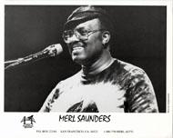 Merl Saunders Promo Print