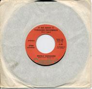 "Merle Haggard Vinyl 7"" (Used)"