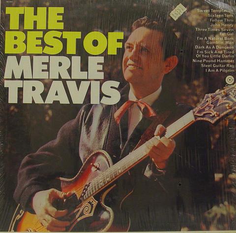 """Merle Travis Vinyl 12"""" (Used)"""