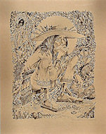 Mescalito (Huichol Indian) Poster
