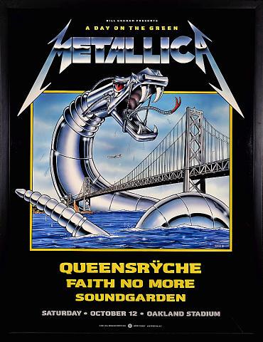 Metallica Framed Poster