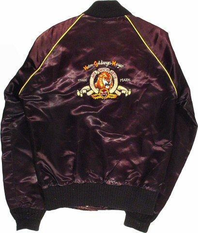Metro-Goldwyn-Mayer (MGM) Men's Vintage Jacket reverse side
