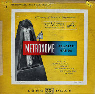 """Metronome All-Star Bands Vinyl 10"""" (Used)"""