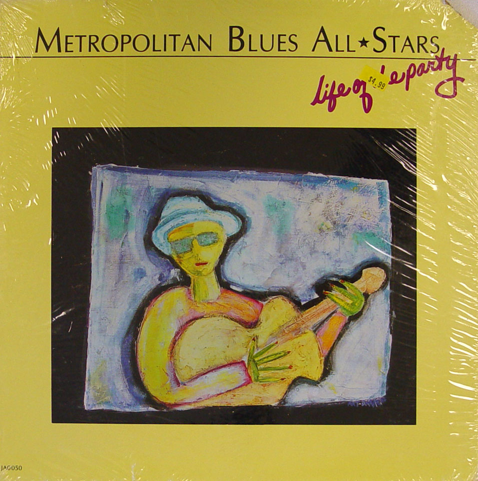 "Metropolitan Blues All-Stars Vinyl 12"" (New)"