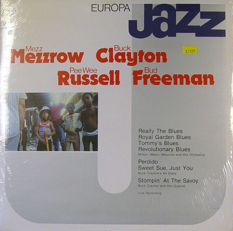 "Mezz Mezzrow / Buck Clayton / Pee Wee Russell / Bud Freeman Vinyl 12"" (New)"