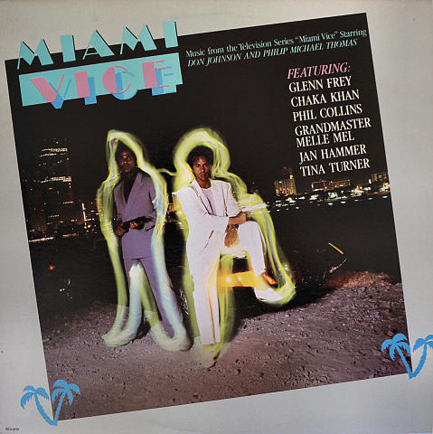 "Miami Vice Vinyl 12"" (Used)"