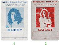 Michael Bolton Backstage Pass
