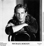 Michael Bolton Promo Print