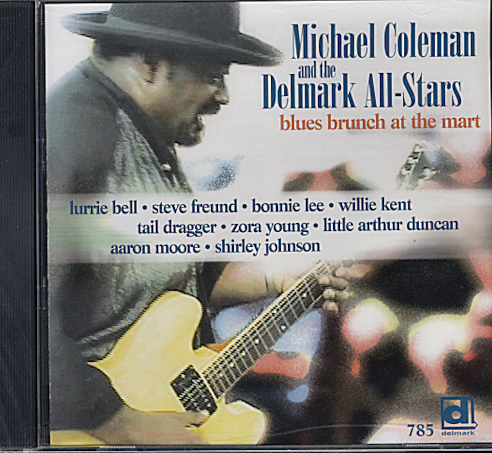 Michael Coleman and the Delmark All-Stars CD