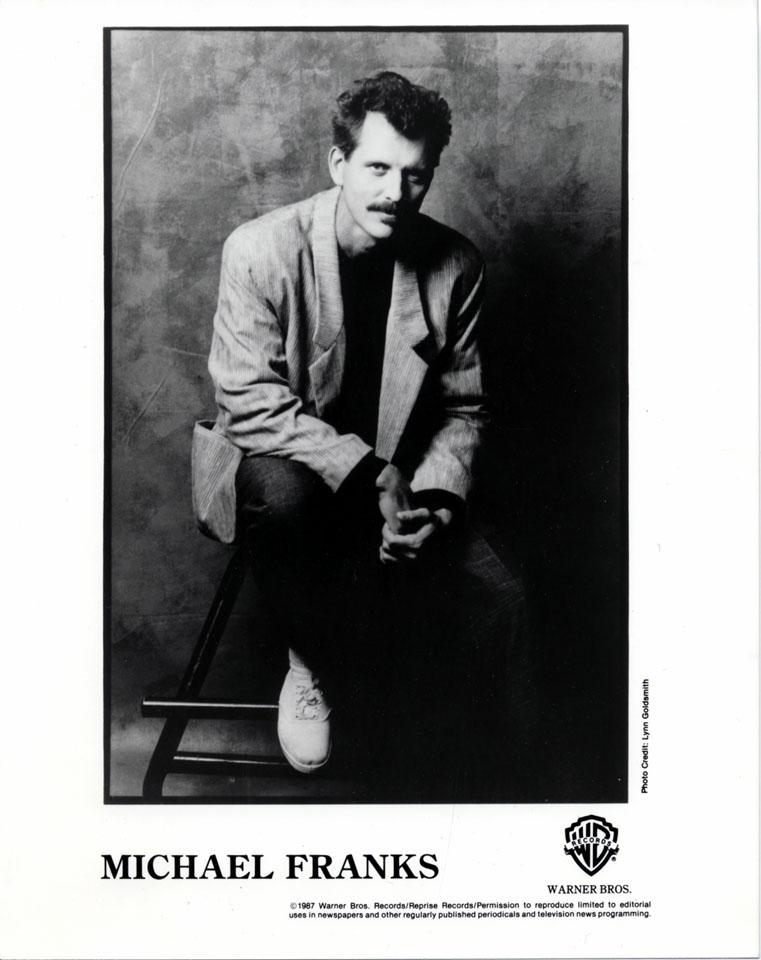 Michael Franks Promo Print