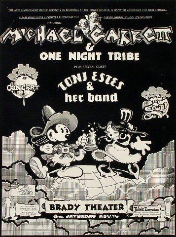Michael Garrett & One Night Tribe Poster
