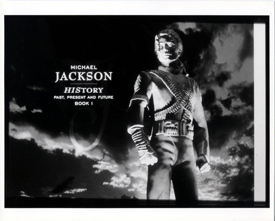 Michael Jackson Promo Print