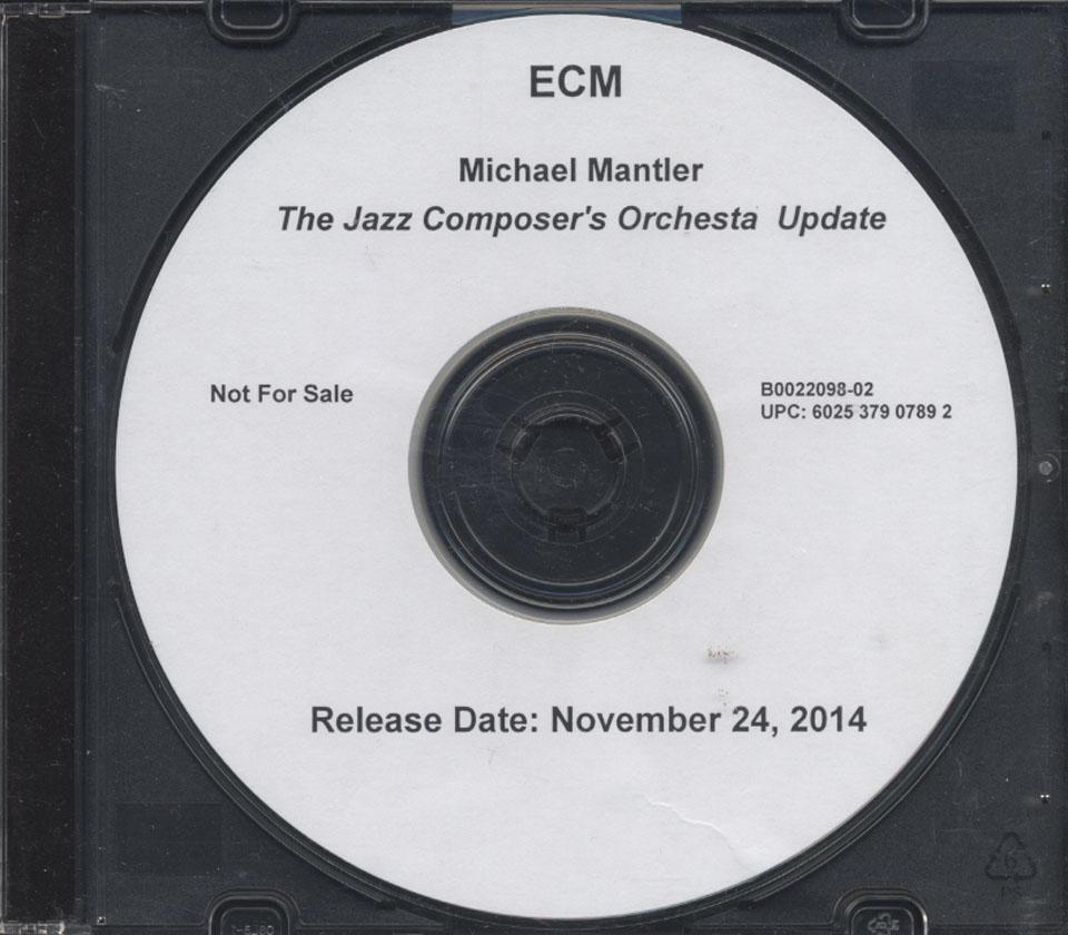 Michael Mantler CD