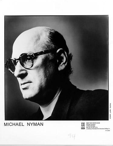 Michael Nyman Promo Print