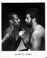 Michael Spinks Promo Print