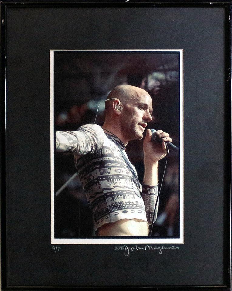Michael Stipe Framed Vintage Print