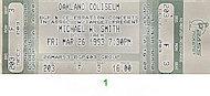 Michael W. Smith Vintage Ticket
