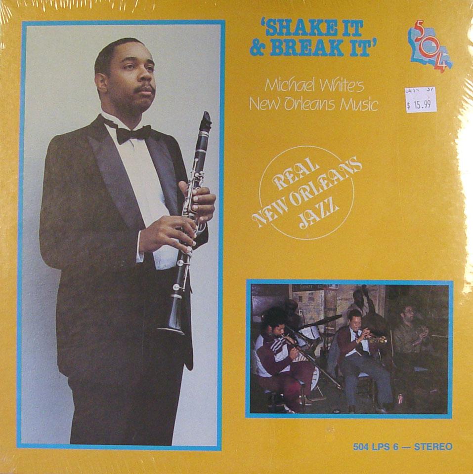 """Michael White's New Orleans Music Vinyl 12"""" (New)"""